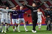 M.U cay đắng chia tay EFL Cup khi để thua đội của HLV Lampard