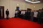 Lễ truy điệu, mở sổ tang và viếng Chủ tịch nước tại Campuchia