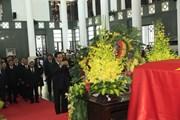 Đoàn nước CHDCND Lào viếng Chủ tịch nước Trần Đại Quang