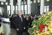 [Photo] Các đoàn nước ngoài viếng Chủ tịch nước Trần Đại Quang
