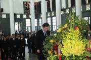 Thủ tướng Hàn Quốc Lee Nak-yeon viếng Chủ tịch nước Trần Đại Quang