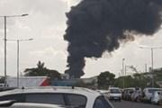 Kenya: Cháy kho hàng tại sân bay quốc tế Jomo Kenyatta ở Nairobi