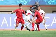 Cập nhật kết quả trận quyết đấu U19 Việt Nam vs U19 Australia