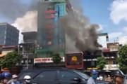 Hà Nội: Kịp thời dập tắt vụ hỏa hoạn tại nhà hàng trên phố Kim Mã