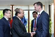 APEC: Thủ tướng tiếp Đoàn liên minh doanh nghiệp Hoa Kỳ