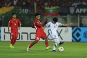 Trực tiếp Myanmar vs Việt Nam 0-0: Văn Đức dứt điểm trúng cột