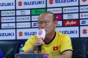 HLV Park Hang-seo thất vọng về trọng tài sau trận hòa đáng tiếc