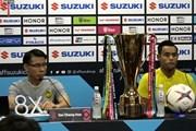 Video trực tiếp buổi họp báo chung kết Malaysia - Việt Nam