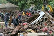 Cận cảnh Indonesia tan hoang sau thảm họa núi lửa - sóng thần