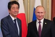Thủ tướng Nhật Bản gặp Tổng thống Nga giải quyết tranh chấp