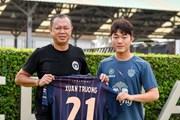 Lương Xuân Trường chính thức ra mắt câu lạc bộ Buriram United