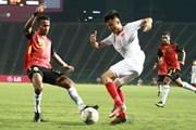Thắng đậm U22 Timor Leste, U22 Việt Nam thẳng tiến bán kết