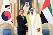 Hàn Quốc và UAE hội đàm về chuyến thăm của Thái tử Mohammed