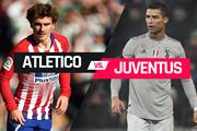 Lịch trực tiếp Champions League: Atletico quyết đấu Juventus