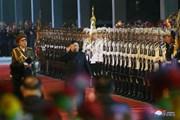 [Photo] Nhà lãnh đạo Kim Jong-un khởi hành tới Nga bằng tàu hỏa