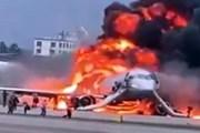 Hiện trường máy bay bốc cháy dữ dội khiến 41 người thiệt mạng