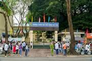 Hình ảnh ngày đầu tuyển sinh vào lớp 10 tại Hà Nội