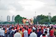 Không khí cuồng nhiệt của người hâm mộ trước trận Việt Nam-Maylaysia