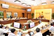 [Photo] Khai mạc Phiên họp thứ 36 của Ủy ban Thường vụ Quốc hội