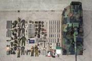 """Quân đội các nước """"khoe"""" khí tài quân sự bằng thử thách xếp hình"""