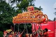 Clip Liên hoan múa rồng kỷ niệm 65 năm Ngày Giải phóng Thủ đô