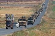 Lực lượng được Thổ Nhĩ Kỳ hậu thuẫn tập luyện trước chiến dịch ở Syria