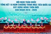 Thủ tướng chủ trì Hội nghị tổng kết 10 năm xây dựng nông thôn mới