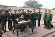 Tổng Tham mưu trưởng Quân đội Nhân dân Việt Nam thăm Ấn Độ