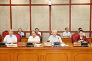 [Photo] Bộ Chính trị làm việc với Ban Thường vụ Thành ủy Cần Thơ