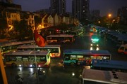 [Photo] Vận tải hành khách tại Hà Nội bắt đầu hoạt động trở lại