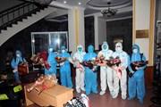 Đoàn cán bộ y tế Sơn La tham gia hỗ trợ chống dịch tại TP.HCM trở về