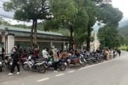 [Photo] Bắt giữ 206 thanh niên đánh võng môtô trên đường lên Tam Đảo
