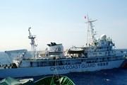 Tàu quân sự Trung Quốc mang vũ khí đe dọa tàu Việt Nam
