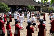 Tour 'Hát Xoan làng cổ': Trải nghiệm độc đáo dành cho du khách