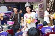 Top 3 Hoa hậu Việt Nam mang Trung Thu sớm tới trẻ em tàn tật, mồ côi