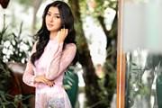 Hoa hậu Quốc tế 2017 đẹp hút hồn trong tà áo dài Việt Nam