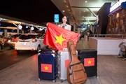 Thùy Tiên mang 110 kg hành lý lên đường dự thi Miss International 2018