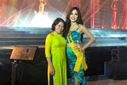Phương Nga đang dẫn đầu bình chọn tại Miss Grand International