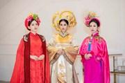 Top 3 Hoa hậu Việt Nam đẹp kiêu sa với phong cách áo dài cung đình