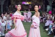 H'Hen Niê, Lệ Hằng sánh bước làm vedette show diễn 'Pink Summer'