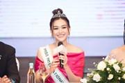 Á hậu Tường San chính thức đại diện Việt Nam dự Miss International