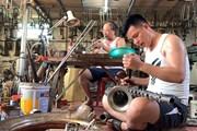 [Video] Ghé thăm làng kèn đồng Phạm Pháo nức tiếng thành Nam