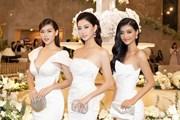 [Photo] Top 3 Miss World Việt Nam đọ dáng khoe đường cong hút mắt