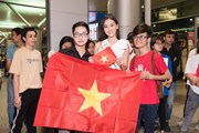 Miss International:Tường San lên đường trong vòng vây người hâm mộ