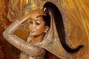 [Photo] H'Hen Niê cực thần thái trong bộ ảnh cuối là Hoa hậu Hoàn Vũ