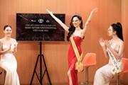 Hình ảnh gợi cảm của đại diện Việt Nam tham gia Miss Intercontinental