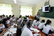 Công bố dự thảo quy trình xây dựng chương trình giáo dục phổ thông