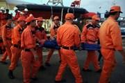 Tìm được 2 thi thể cuối cùng trong vụ tàu cá chìm gần mũi Vũng Tàu
