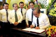 Phó Thủ tướng Trương Hòa Bình viếng Hòa thượng Thích Đức Phương
