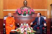 Thúc đẩy hơn nữa sự gắn kết giữa Phật giáo Việt Nam và Lào